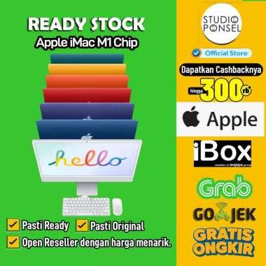 harga IBox - iMac M1 Chip Custom 24inch 7Core 16GB 256GB Z13K0005C / Z14M0005C Silver Blibli.com