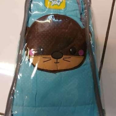 harga Promo Gendongan samping bayi kantong botol susu bonnie series babyjoy - Biru Diskon Blibli.com