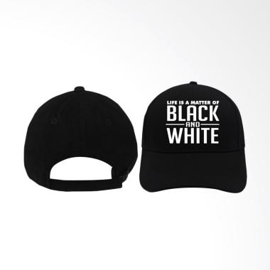 IndoClothing Juventus Life is a Mat ...  White Topi Baseball Pria