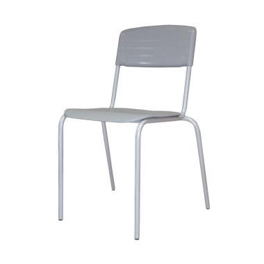 HighPoint SCG16 Mata Genio Kursi Plastik - Grey