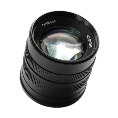 7ARTISANS 55mm f1.4 for Fuji FX Black
