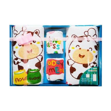 Kiddy 11132 Gift Set Pink Handuk Bayi - Multicolor