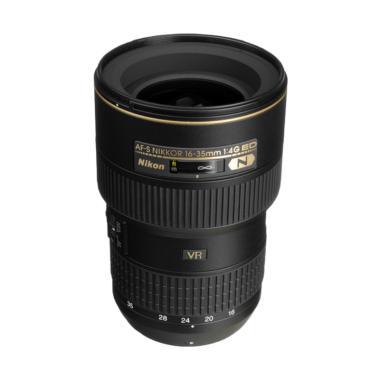 Nikon AF-S 16-35mm f/4G ED VR N Lensa Kamera - Ladang