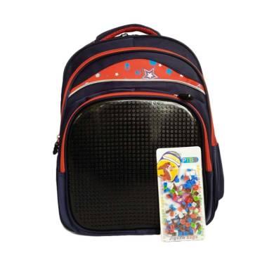 Powa 0930010678 Lego Pixel Tas Sekolah Anak