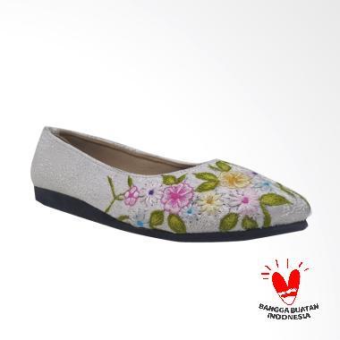harga Eni Purwa Etnik Sepatu Wanita - Putih Blibli.com