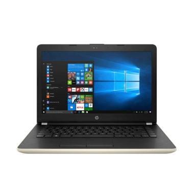 harga HP 14-BS741TU GOLD - [Intel Core i3 6006U Dual Core/4GB/1TB/Intel HD Graphics 520/14