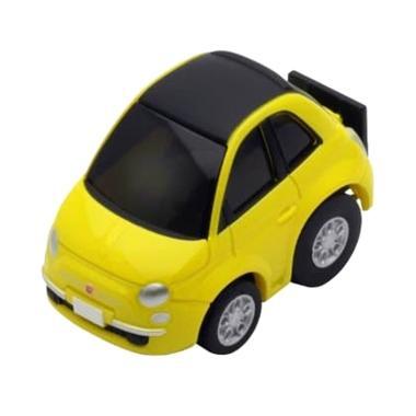 harga Takara Tomy Tomica Tomytec Choro Q Z-29b Zero Fiat 500c Diecast - Yellow Blibli.com