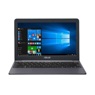 harga Asus E203MAH-FD011T Notebook - Star Grey [Intel N4000 Dual Core/ 2GB/ 500GB/ Intel HD Graphics/ 11.6 Inch HD/ Windows 10] Blibli.com