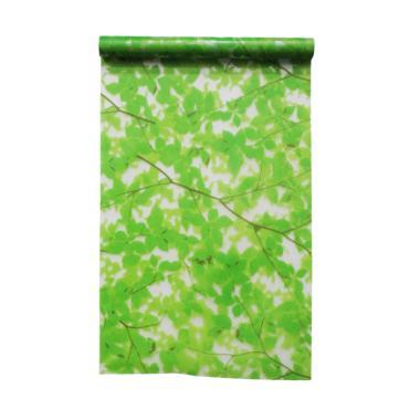 harga LUXURIOUS WS 10-02 Motif Daun Sandblast Windows Sticker Leaf Green Blibli.com