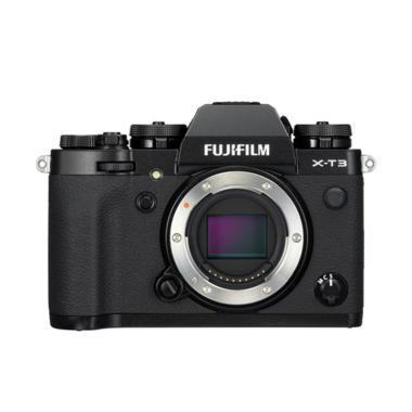 harga JKLENSA KAMERA Fujifilm XT3 / Fuji X-T3 Mirrorless Digital Camera Body Only Garansi Resmi Fujifilm Black Blibli.com