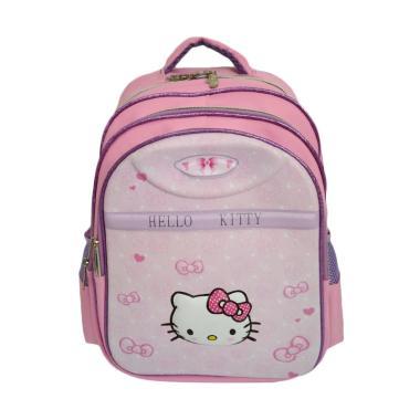 Hello Kitty 0930010771 Backpack Tas Sekolah Anak SD - Pink