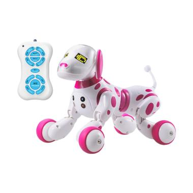 Best 9007A Intelligent RC Robot Dog Toy - Pink