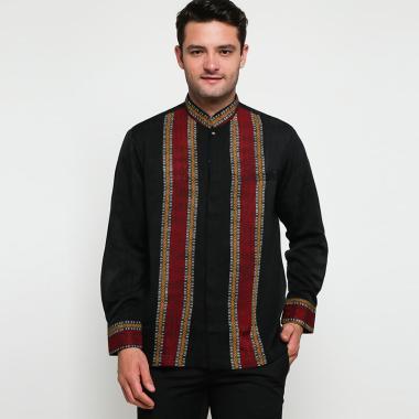 Batik Arjunaweda Raghav Baju Koko Pria - Hitam [97006018]
