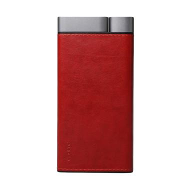 Puridea X02 Leather Powerbank [20.000 mAh/ 2 Inputs & 2 Outputs]