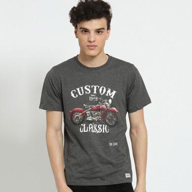 Edwin Lengan Pendek T-Shirt Pria - Grey [ETS-012-112]