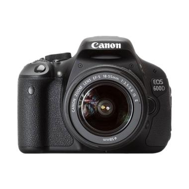 harga Canon EOS 600D Kit 18-55mm IS II Kamera DSLR Blibli.com