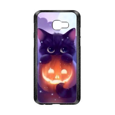 harga Acc Hp Halloween Cat L0018 Custom Casing for Samsung Galaxy A3 2017 Blibli.com
