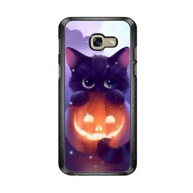 harga Acc Hp Halloween Cat L0018 Casing Custome Samsung Galaxy A5 2017 Blibli.com