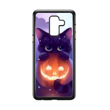 harga Acc Hp Halloween Cat L0018 Custome Casing for Samsung Galaxy A6 Plus Blibli.com