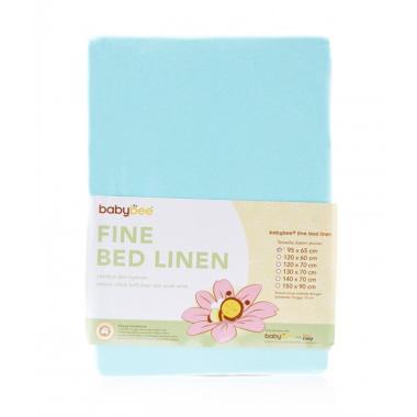 harga Babybee Polkadot Fine Bed Linen Sprei Matras Anak - Aqua Blue [95 x 65 cm] Blibli.com
