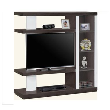 Creova Lemari Tv Rak Tv Sekaligus Pembatas Ruang Coklat