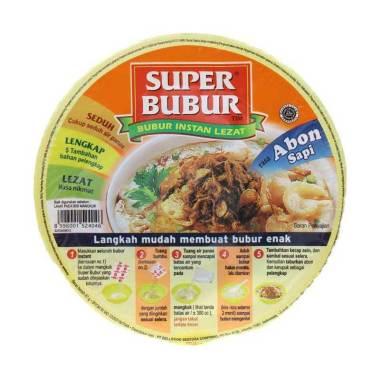 harga Super Bubur Abon Sapi Cup 67G Blibli.com