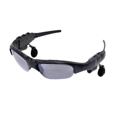 harga Bluelans Fashion Wireless Bluetooth V4.1 Stereo Sunglasses Headset Headphones Earphone Blibli.com