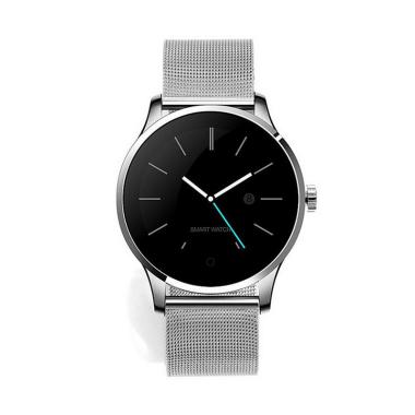 harga EDS K88H Smart Watch IOS Android Heart Rate Monitor Smart Watch 1.22 Inch IPS Round Screen Bluetooth SmartWatch Blibli.com