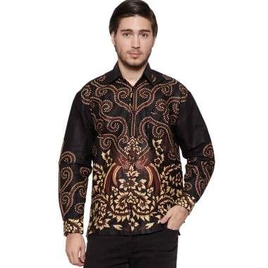 harga Batik JTG - Kemeja Batik Pria Lengan Panjang - Batik Klenyuri Blibli.com