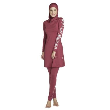harga Bluelans Muslim Summer Swimwear Modesty Swimsuit Women Comfortable Full Cover Beachwear Blibli.com