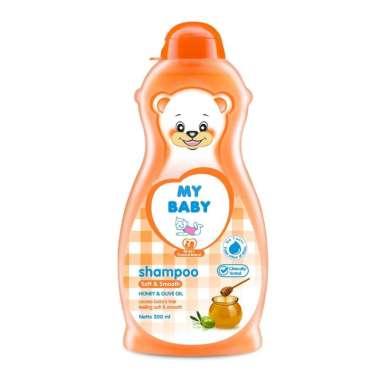 harga My Baby Soft and Smooth Shampo Bayi [100 mL] Blibli.com