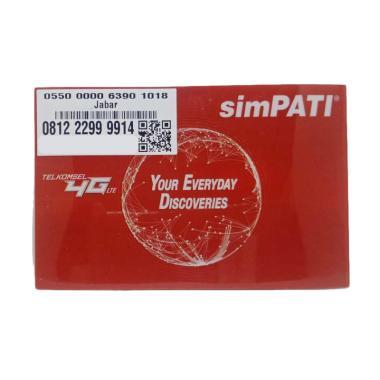 harga Telkomsel Simpati Nomor Cantik 081 222 9999 14 Kartu Perdana [12 Digit] Blibli.com