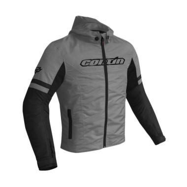 Contin Suave Jaket Motor - Grey
