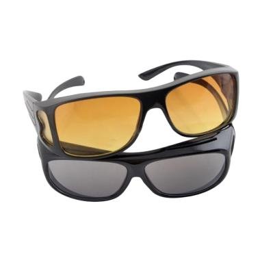 MOS HD Vision Sunglasses Night And Day Kacamata Anti Silau