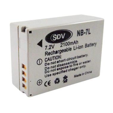SDV NB-7L Battery for Kamera Canon [2100 mAh]