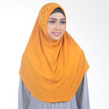 Inara House Sakura Hijab - Emas