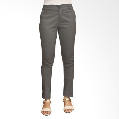 Adore Ladies Celana Panjang Chino - Grey