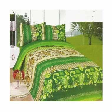 Bonita Batik Set Sprei - Green [180 x 200 cm]