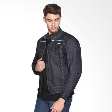 Contin Kamared 11 Denim Jaket Motor