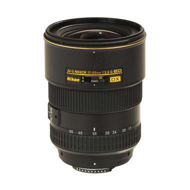 NIKON AF-S 17-55mm f-2.8G IF ED DX Lensa Kamera