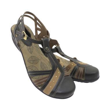 Ornella JG 662 Bertali Sepatu Sandal Wanita - Coffee