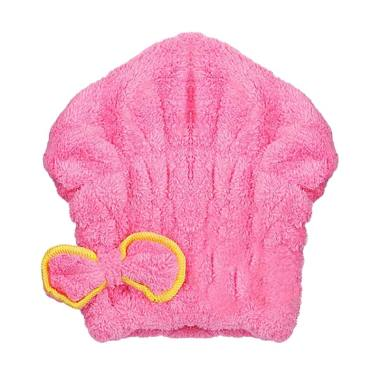 You've Rabbit 01 Hair Towels - Pink
