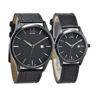 Alfa Couple Edition D45H17055010CHTM Date Jam Tangan Pasangan