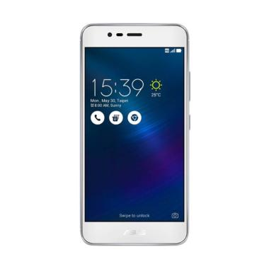 Asus Zenfone 3 Max ZC553KL Smartphone - Silver [32 GB/3 GB]