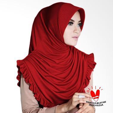 Milyarda Hijab Sofia - Maroon