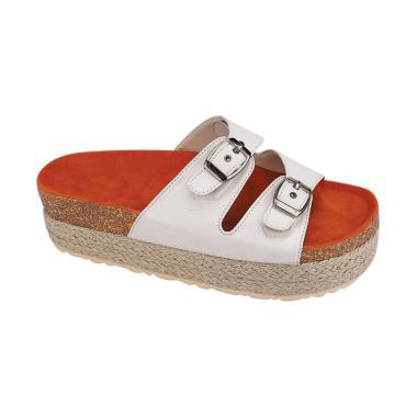 Syaqinah 322 Sandal Wanita - Putih