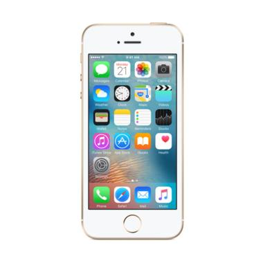 Apple iPhone SE 64GB Smartphone - Gold [REFURBISH] GARANSI 1 TAHUN