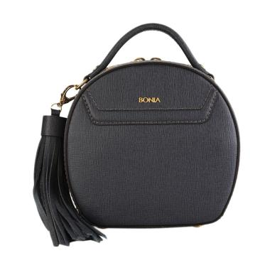 Bonia Basic Sonia XS Hand Bag - Gun Metal