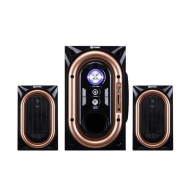 GMC 886 C Bluetooth Speaker - Gold Silver