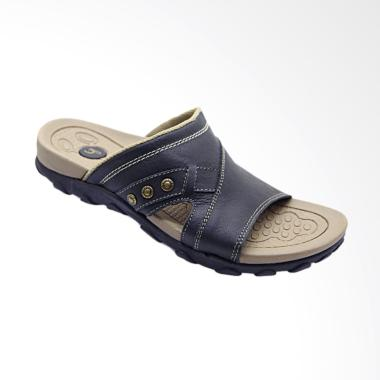 Homyped Sandal Pria Sienta 01 - Black